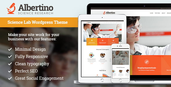 Science-Technology-WordPress-Themes - 33+ Great Science & Technology WordPress Themes [year]