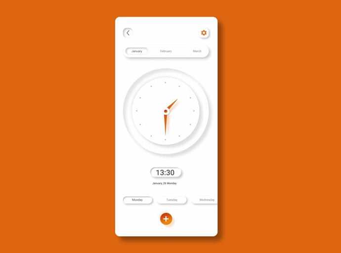 Shades-Of-Grey - 43+ BEST FREE Neumorphism UI Design SAMPLE