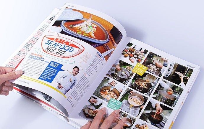 The-Caterer-Middle - 35+ Creative Free Cookbook Designs Example [year]