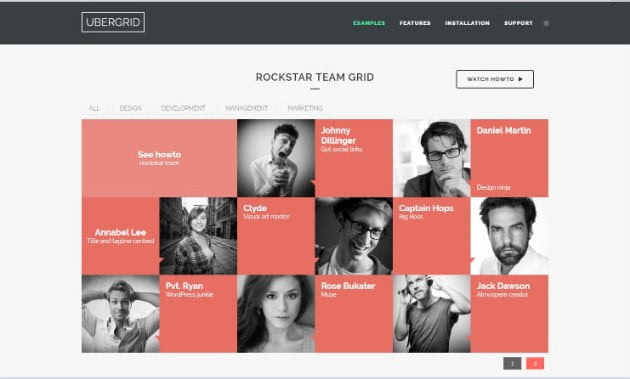 UberGrid - 28+ Essential Grid Layout WordPress Plugins [year]
