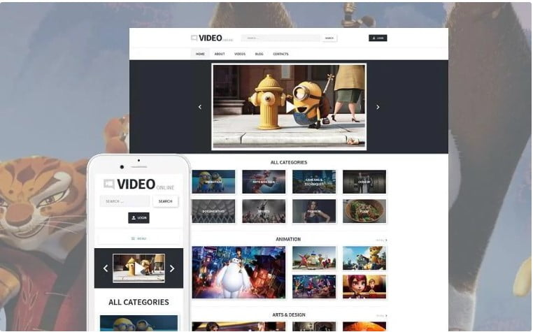 Video-Records - 43+ Best WordPress Movie Templates [year]