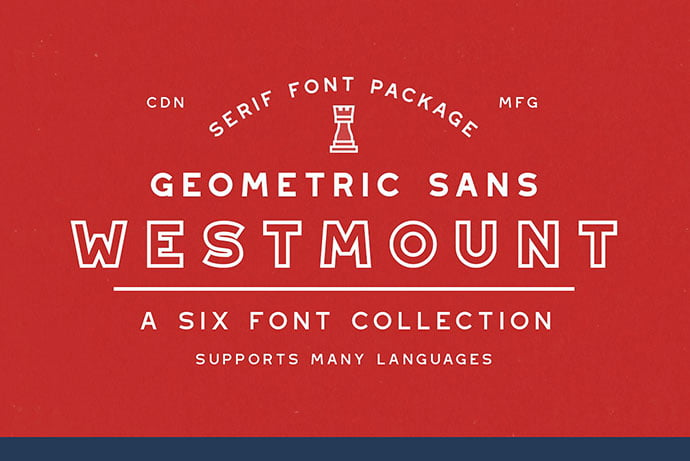 Westmount - 39+ Amazing Outline Fonts For Designer [year]
