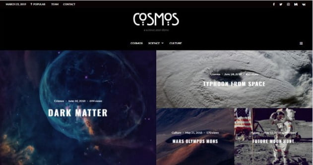 Zeen - 33+ Great Science & Technology WordPress Themes [year]