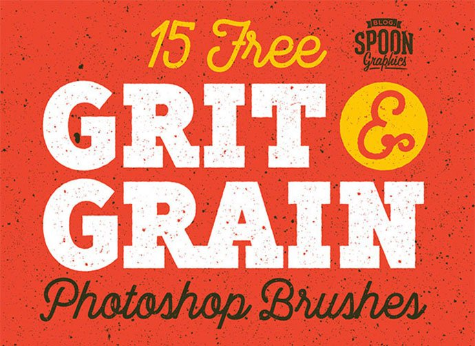 15-Free-Grit - 43+ Amazing BEST Free Photoshop Brush Sets [year]