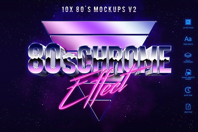 80's-Style-Text-Mockups - 33+ Nice Retro Vintage Photoshop Text Effects [year]