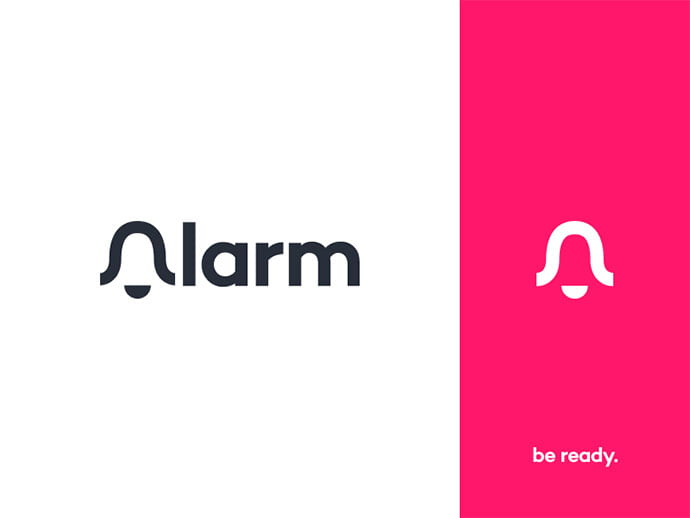 Alarm - 38+ Nice 100% Free Letter Substitution Logo Designs [year]