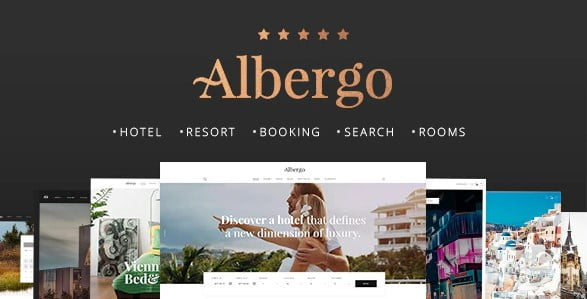Albergo - 37+ Awesome WordPress Booking Themes [year]