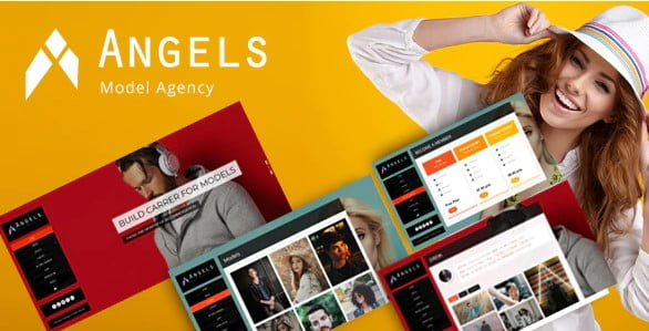 Angel - 37+ Awesome Actors WordPress Themes [year]
