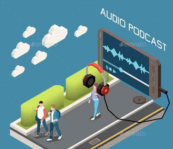 Audio-Podcast - 63+ BEST Free PodCast Web & Mobile App UI Design IDEA [year]