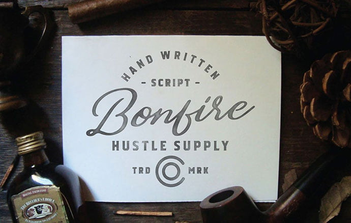 BONFIRE - 53+ Best Free Calligraphy & Hand Lettering Fonts [year]
