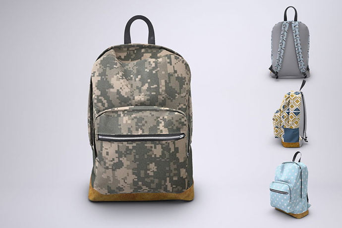 Backpack-Rucksack-Mock - 38+ Nice PSD Mockups for Your Amazing Projects [year]