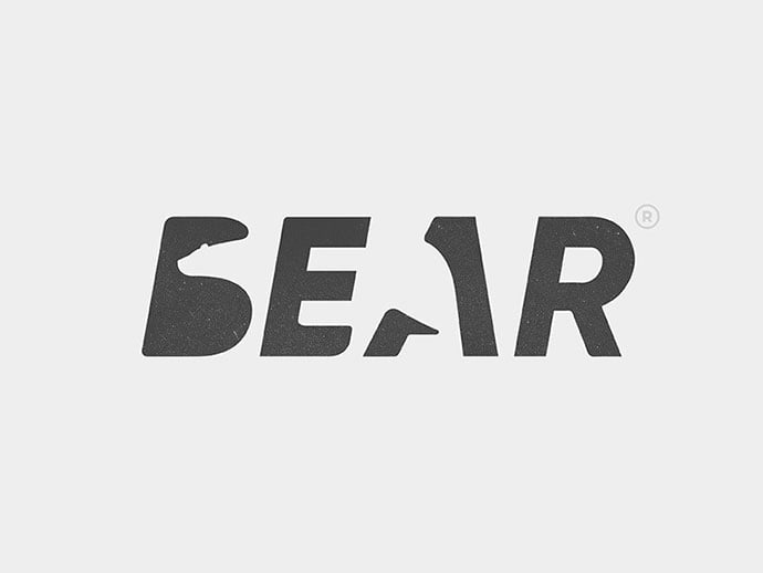 Bear - 43+ Top BEST Free Animal Logo Designs Example [year]