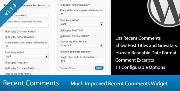 Better-Recent-Comments-Widget-Pro - 35+ Top WordPress Comment Plugins [year]