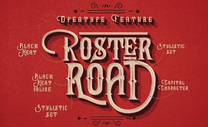 Black-Heat - 38+ Beautiful Fonts For Graphic Design [year]