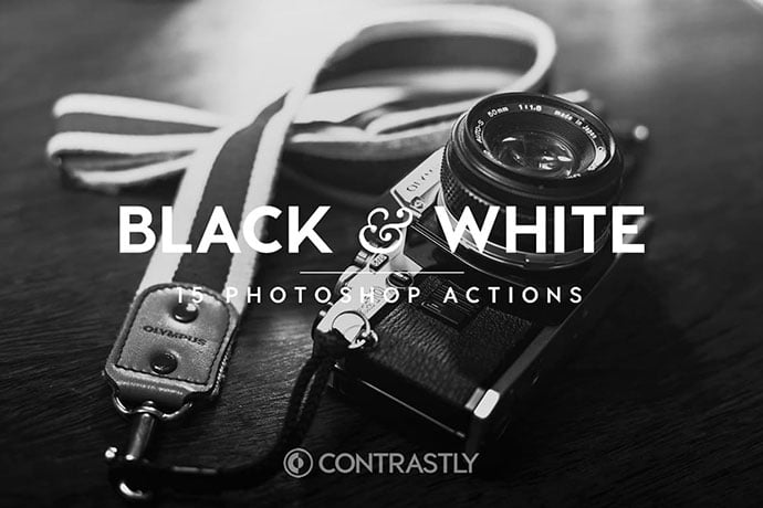 Black-White - 34+ Awesome Black & White Photoshop Actions [year]