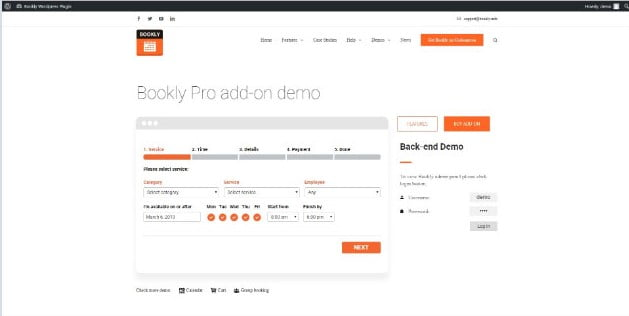 Bookly - 28+ 100% Free Booking & Scheduling WordPress Plugins [year]