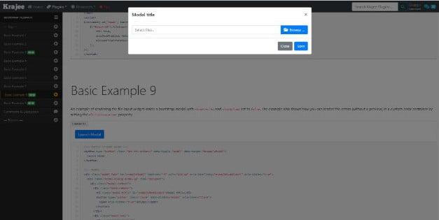 Bootstrap-Fileinput - 38+ Amazing 100% Free Bootstrap Web UI KIT [year]