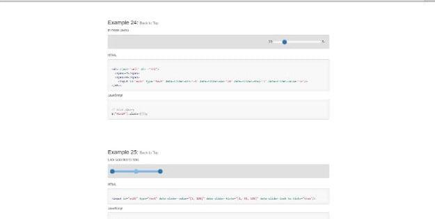 Bootstrap-Slider - 38+ Amazing 100% Free Bootstrap Web UI KIT [year]