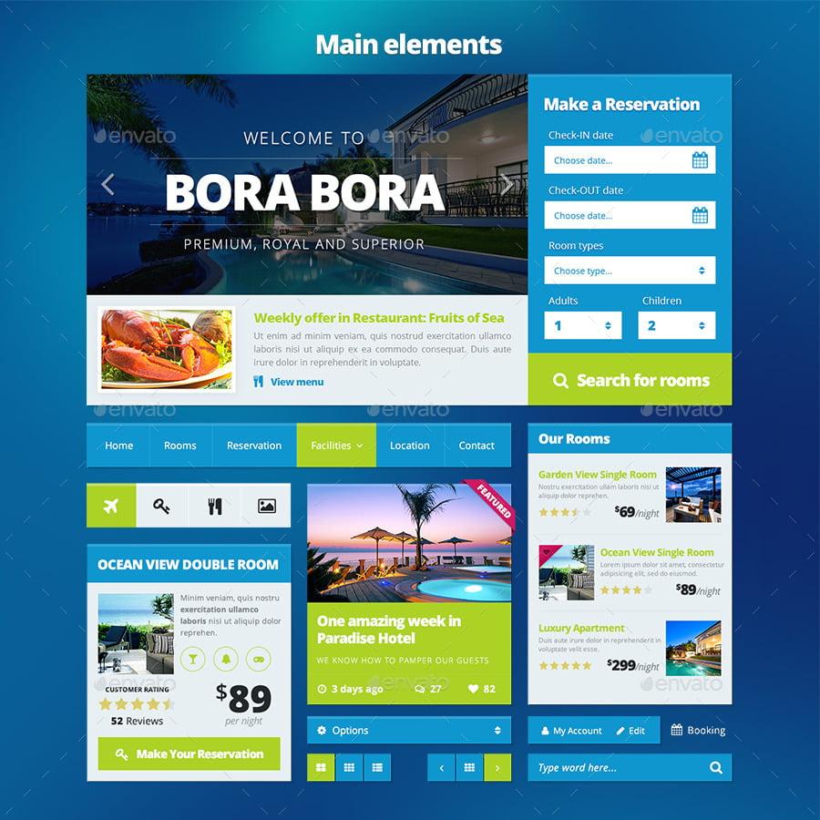 Bootstrap-Web-UI-KIT - 38+ Amazing 100% Free Bootstrap Web UI KIT [year]