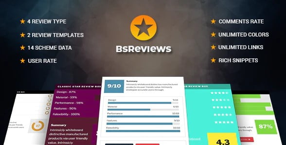 BsReviews - 35+ Top WordPress Comment Plugins [year]