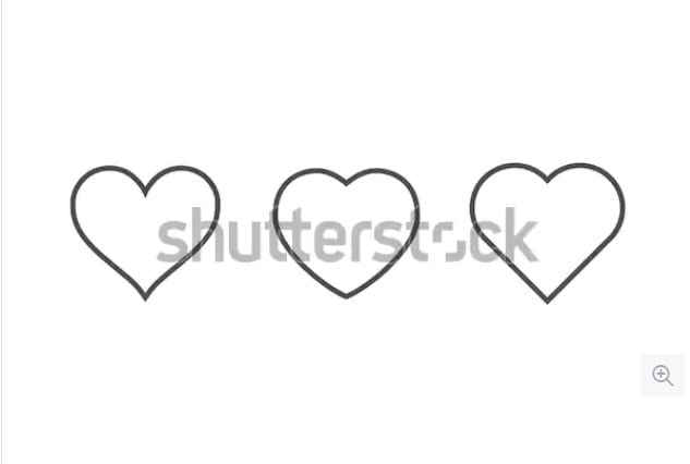 By-Giamportone - 36+ Lovely Free Heart Vector Images From Shutterstock [year]