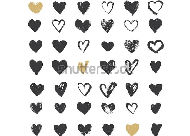 By-Marish - 36+ Lovely Free Heart Vector Images From Shutterstock [year]