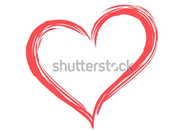 By-Roman-Borodaev - 36+ Lovely Free Heart Vector Images From Shutterstock [year]