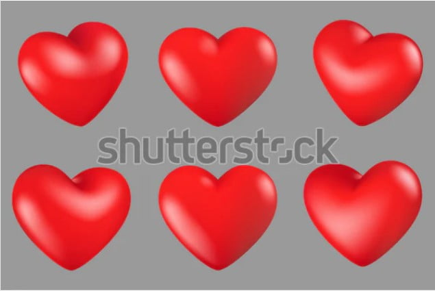 By-Taleseedum - 36+ Lovely Free Heart Vector Images From Shutterstock [year]