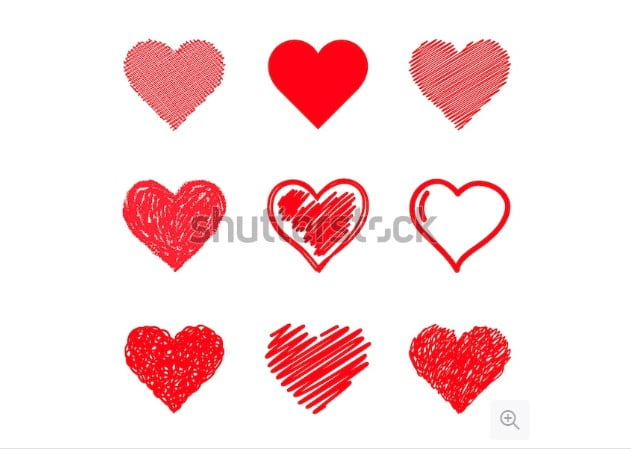 By-iktash - 36+ Lovely Free Heart Vector Images From Shutterstock [year]