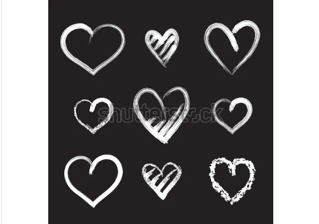 By-od.erde_ - 36+ Lovely Free Heart Vector Images From Shutterstock [year]