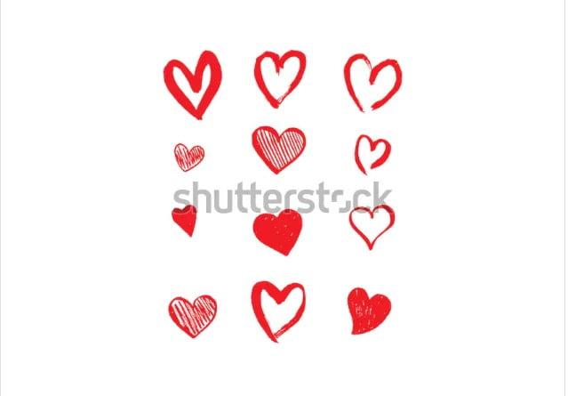 By-yurgo - 36+ Lovely Free Heart Vector Images From Shutterstock [year]