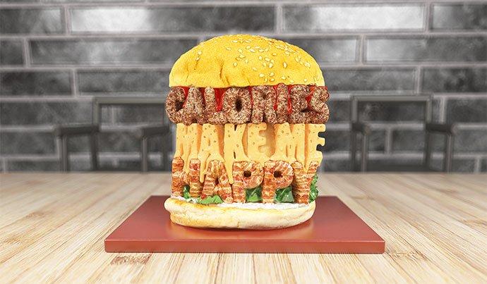 Calories-Make-Me-Happy - 53+ Impressive BEST Free Food & Drink Designs [year]