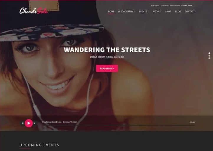 Chords - 36+ Amazing WordPress Radio Station Themes [year]