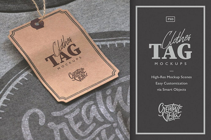 Clothes-Tag-Psd-Mockups - 38+ Nice PSD Mockups for Your Amazing Projects [year]