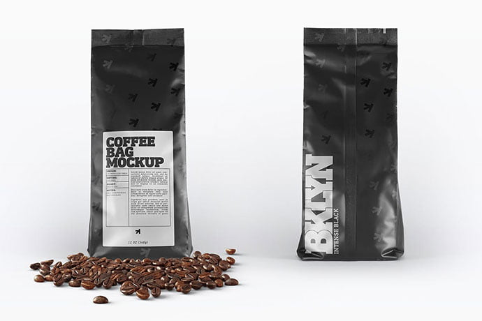 Coffee-Bag-Packaging-Mockup - 38+ Nice PSD Mockups for Your Amazing Projects [year]