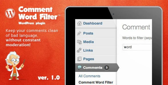 Comment-Word-Filter - 35+ Top WordPress Comment Plugins [year]