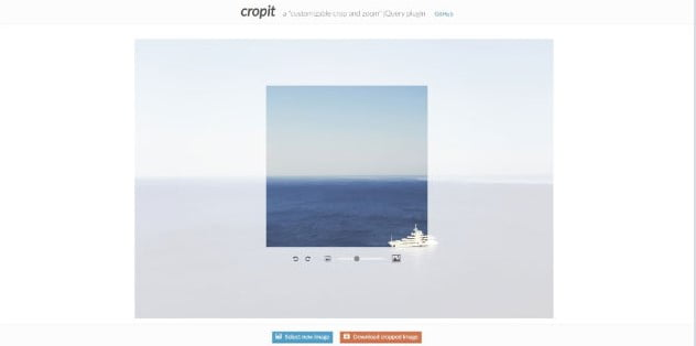 Cropit - 34+ Important Web & Mobile Zoom Libraries [year]