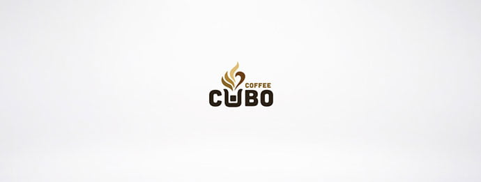 Cubo-Coffee - 38+ Nice 100% Free Letter Substitution Logo Designs [year]