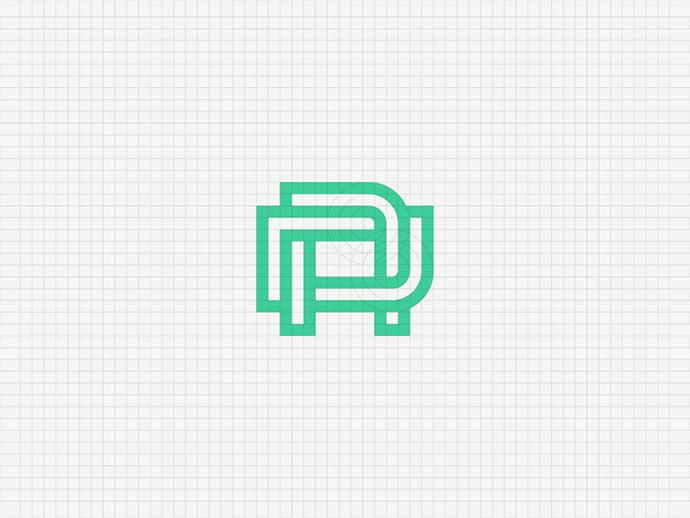 DA-monogram - 38+ Excellent BEST Free Logo Grids Sample [year]