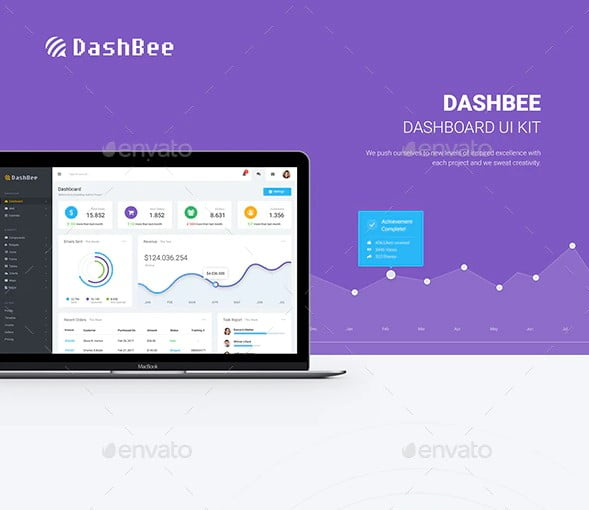 DashBee - 38+ Amazing 100% Free Bootstrap Web UI KIT [year]
