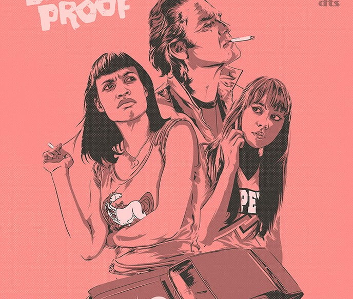 Death-Proof - 39+ Best BEST Free Retro & Vintage Movie Design [year]