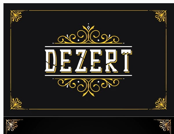 Dezert - 28+ Excellent 100% Free Blackletter Fonts [year]
