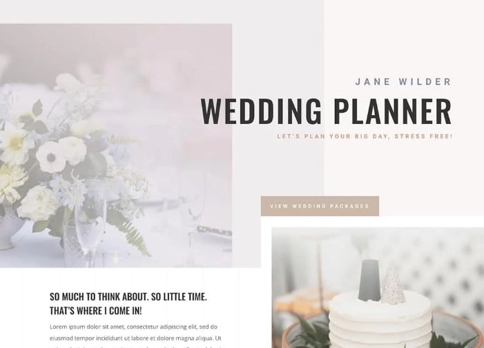 Divi-1 - 35+ Nice WordPress Wedding Planner Themes [year]