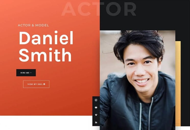 Divi - 37+ Awesome Actors WordPress Themes [year]