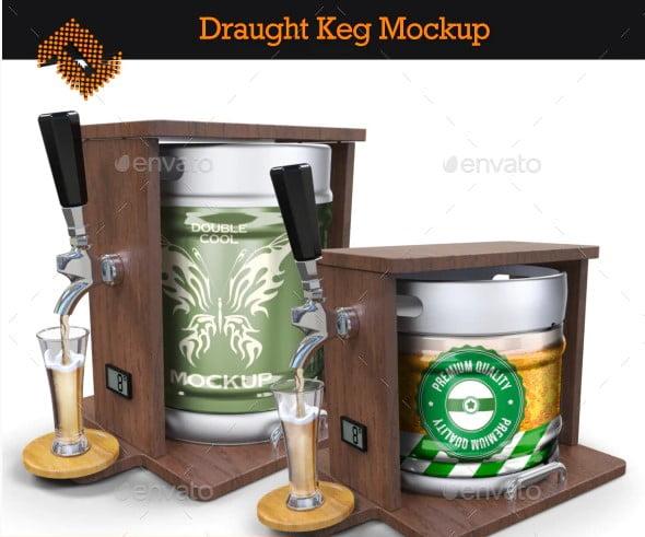 Draught-Keg - 53+ Impressive BEST Free Food & Drink Designs [year]