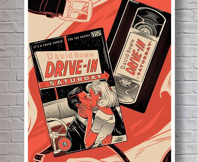 Drive - 39+ Best BEST Free Retro & Vintage Movie Design [year]