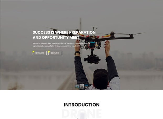 Drone - 33+ Lovely Outdoor Gear WordPress Themes [year]