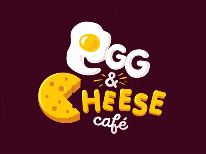 Egg-Cheese - 38+ Nice 100% Free Letter Substitution Logo Designs [year]