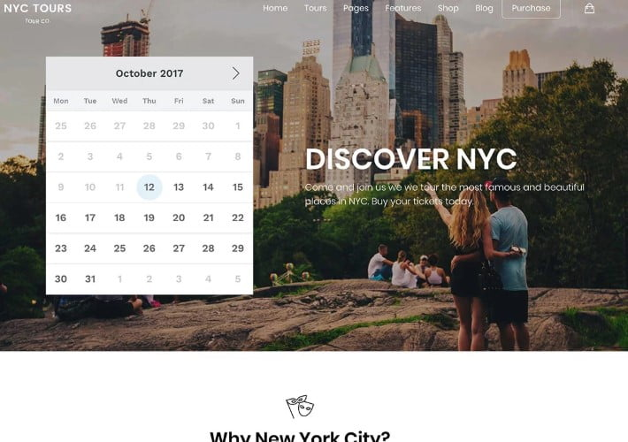 Embark - 37+ Awesome WordPress Booking Themes [year]