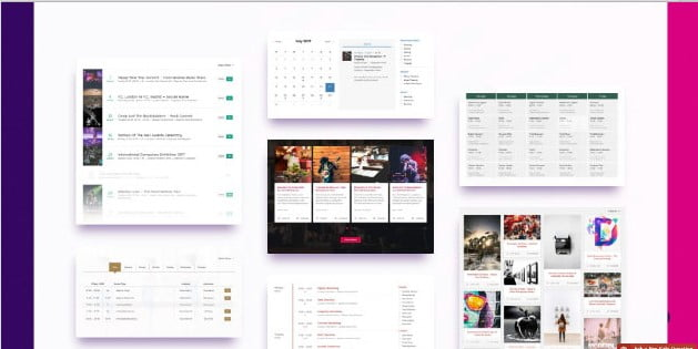 Events-Schedule - 28+ 100% Free Booking & Scheduling WordPress Plugins [year]